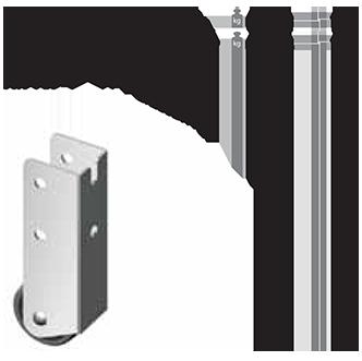 Ролик AR 167-1