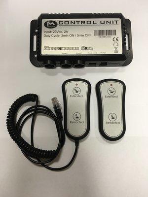 Комплект проводного и беспроводного пульта
