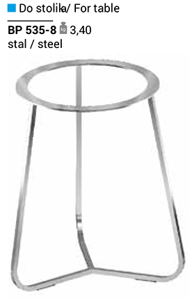 Опора для стола BP 535-8