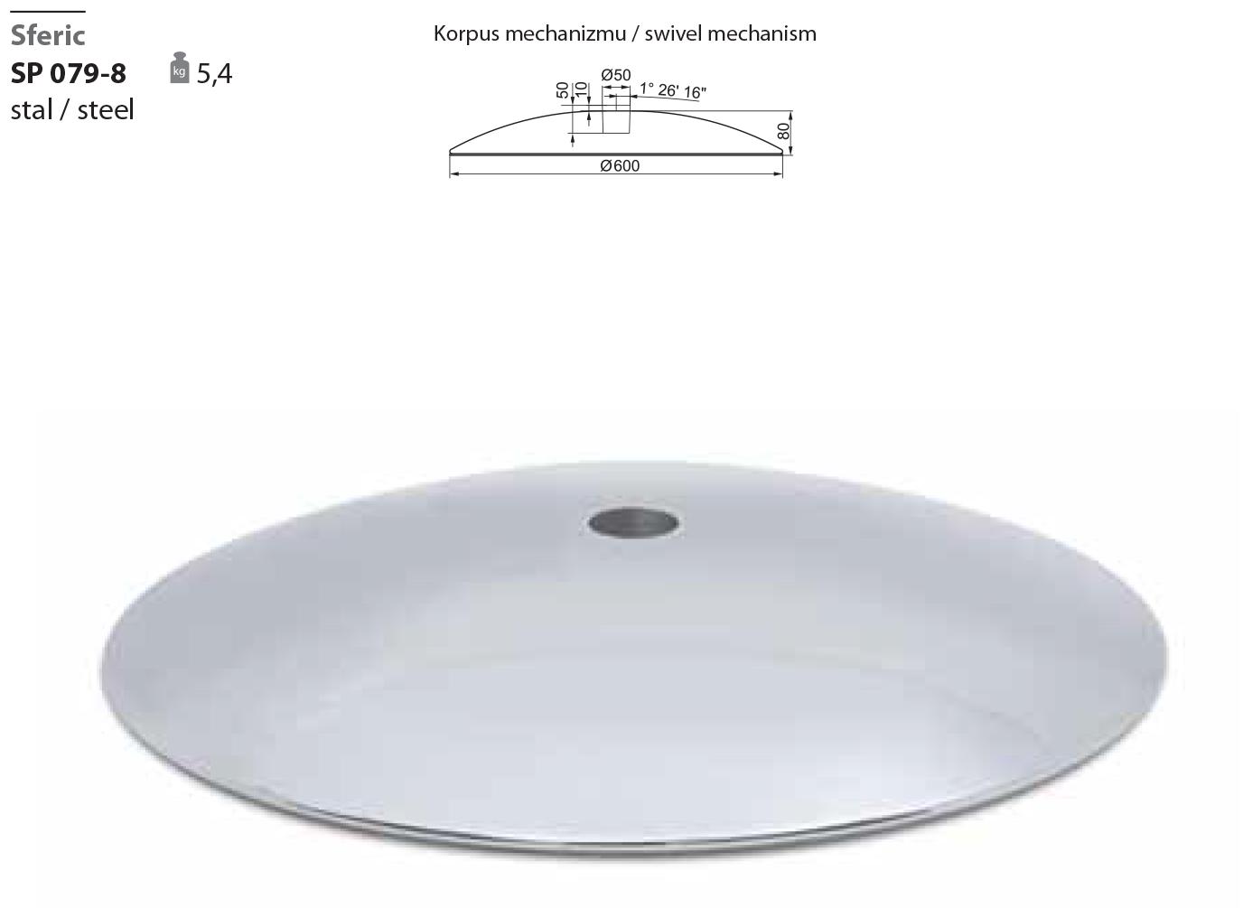 Поворотная опора SP 079-8