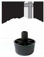 Пластиковая опора TS 018-5