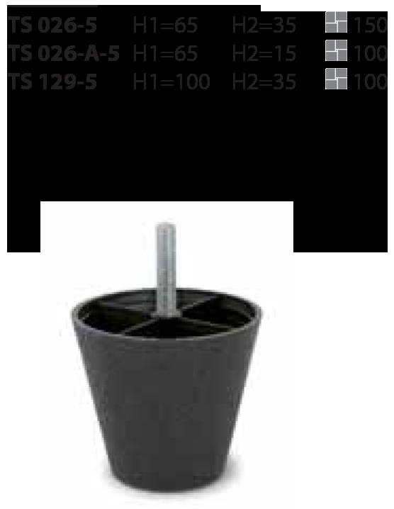 Пластиковая опора TS 129-5