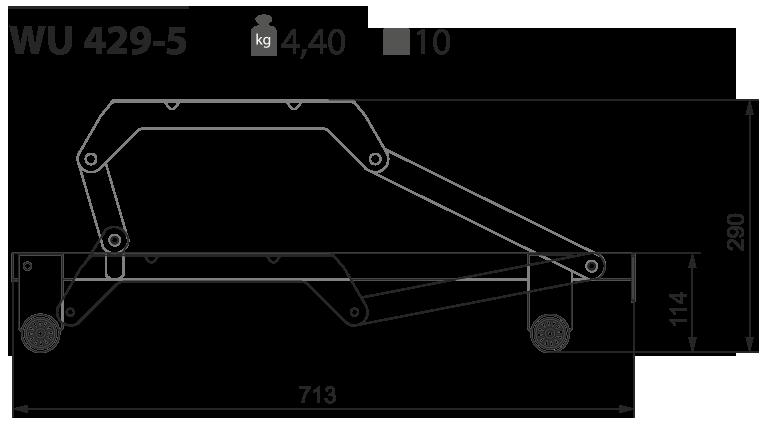 Выкатной механизм для дивана WU 429-5