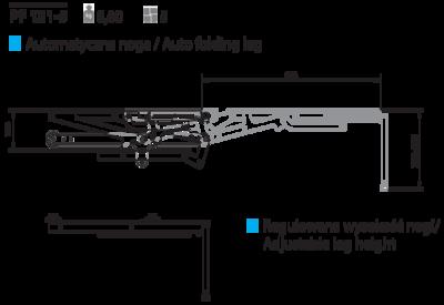 Механизм для дивана пума PF 121-5