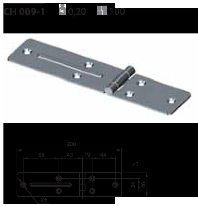 Петля CH 009-1