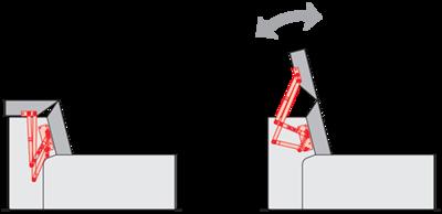 Подголовник PC 001-8 с газовым амортизатором