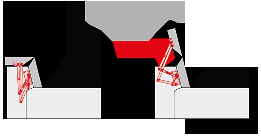 Подголовник PC 006-A-8 M с электроприводом