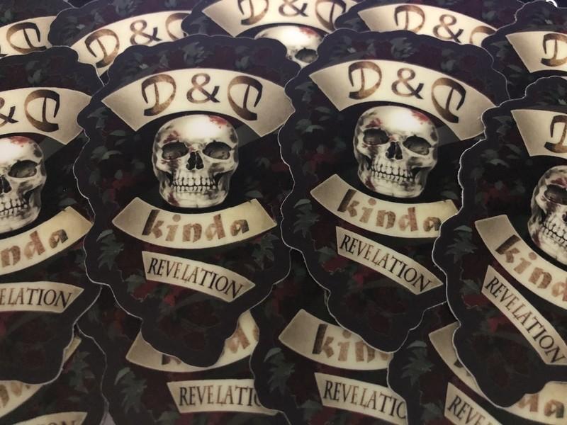 D&D, Kinda Banner Sticker