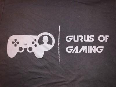 Gurus of Gaming Logo Tee - Grey