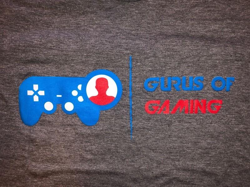 Gurus of Gaming Logo Tee