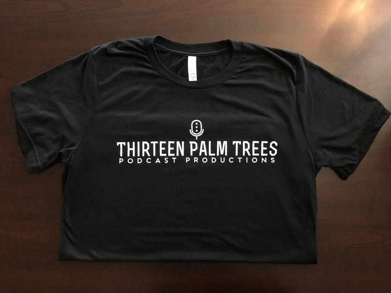 Thirteen Palm Trees Logo Tee