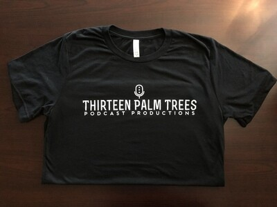 Thirteen Palm Trees Logo Tee