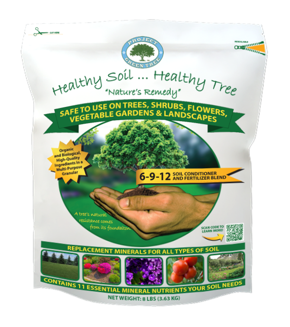 Healthy Soil Healthy Tree Soil Conditioner and Fertilizer Blend