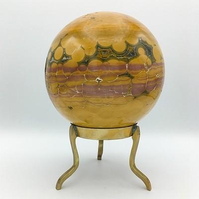 """Ocean Jasper Sphere 5"""""""