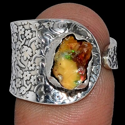 Opal Ring (Rough) Size 8.5