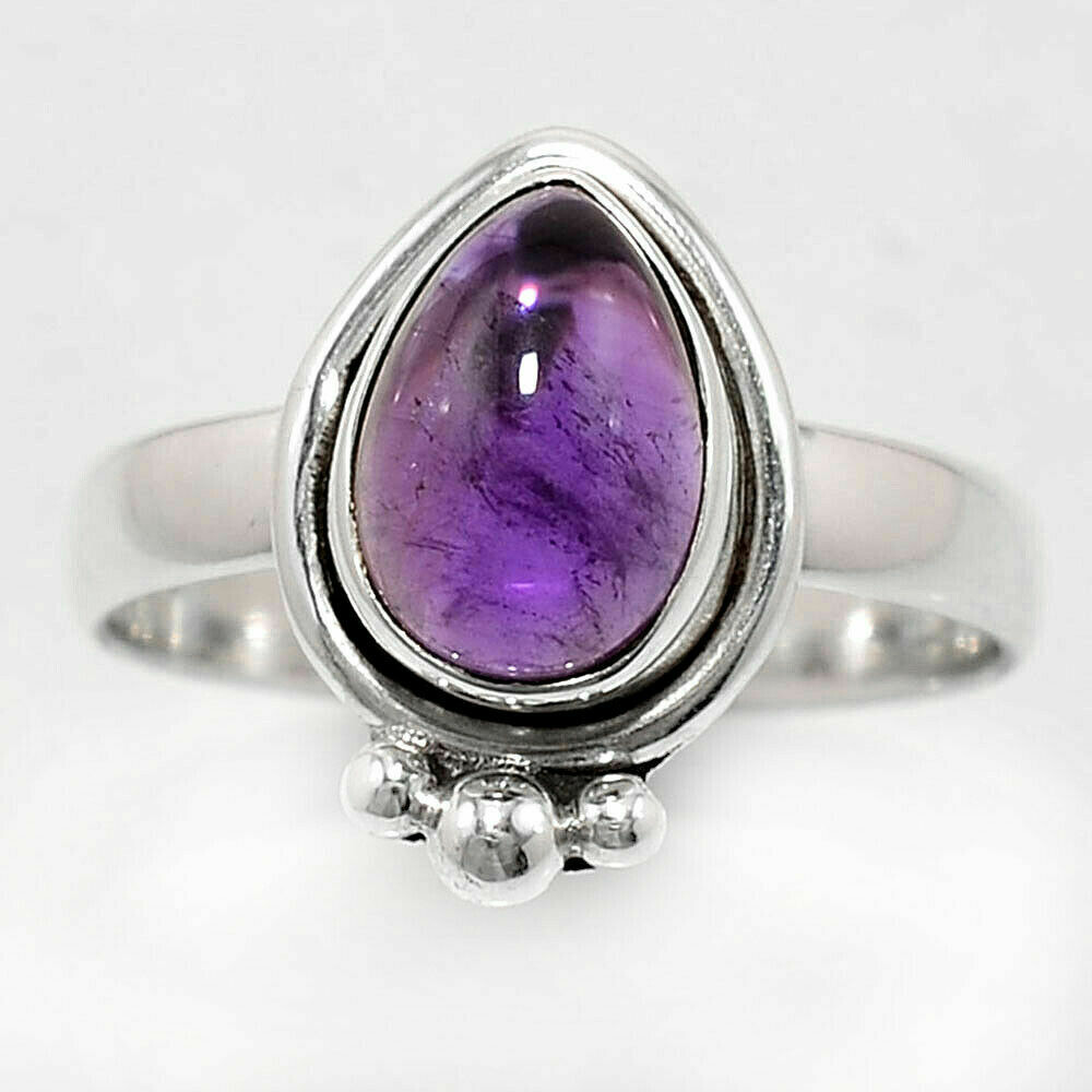 Amethyst Ring Size 8.5