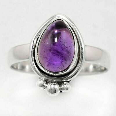 Amethyst Ring Size 8.5