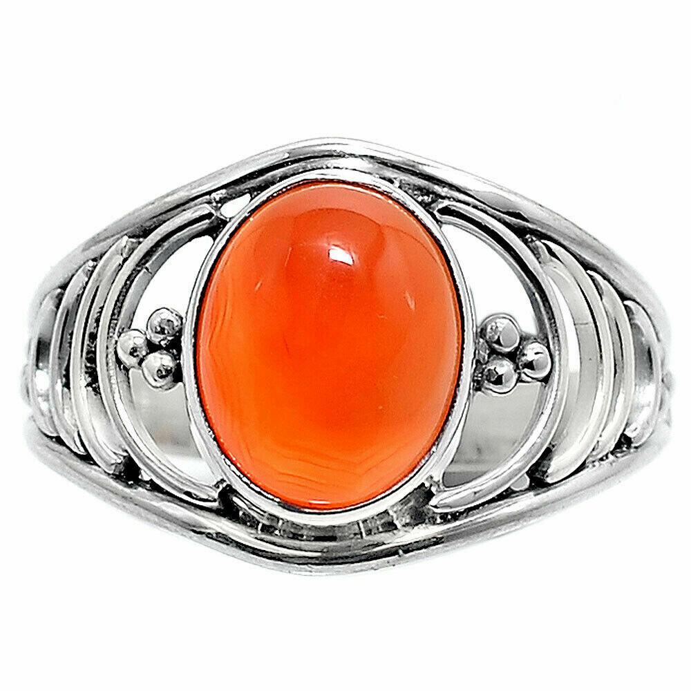 Carnelian Ring size 8.5