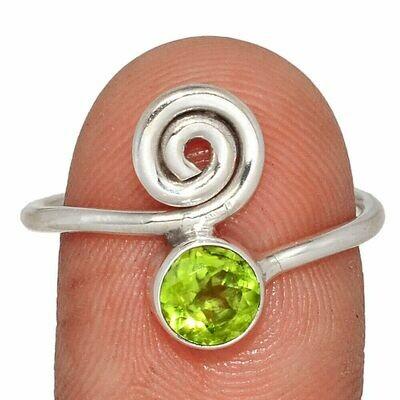 Peridot Ring size 9.5