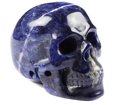 "Skull- Sodalite 2"""