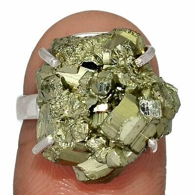 Pyrite Ring Size 5.5