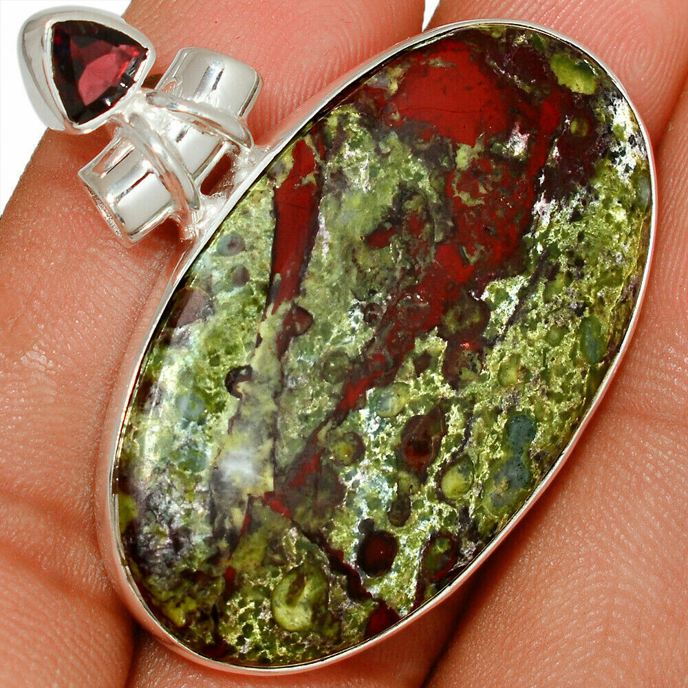 Dragon's Bloodstone Pendant