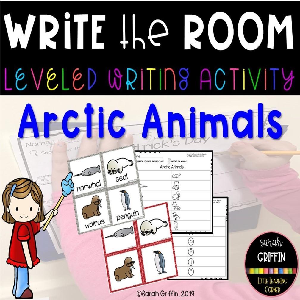 Write the Room: Artic Animals