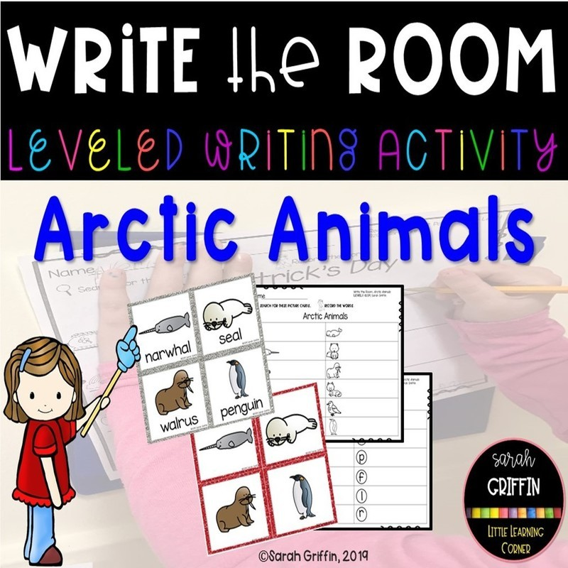 Write the Room: Artic Animals