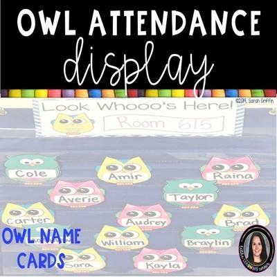 Owl Attendance Display