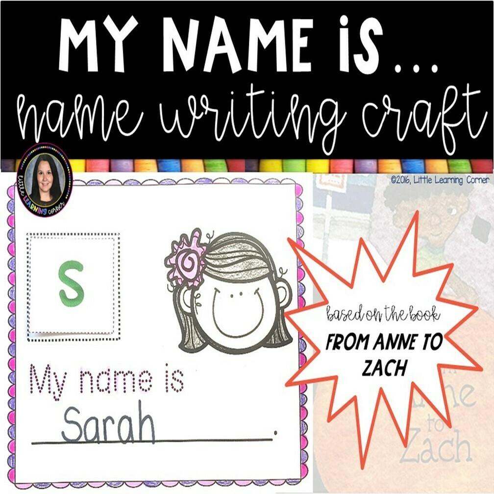 Name Writing Activity