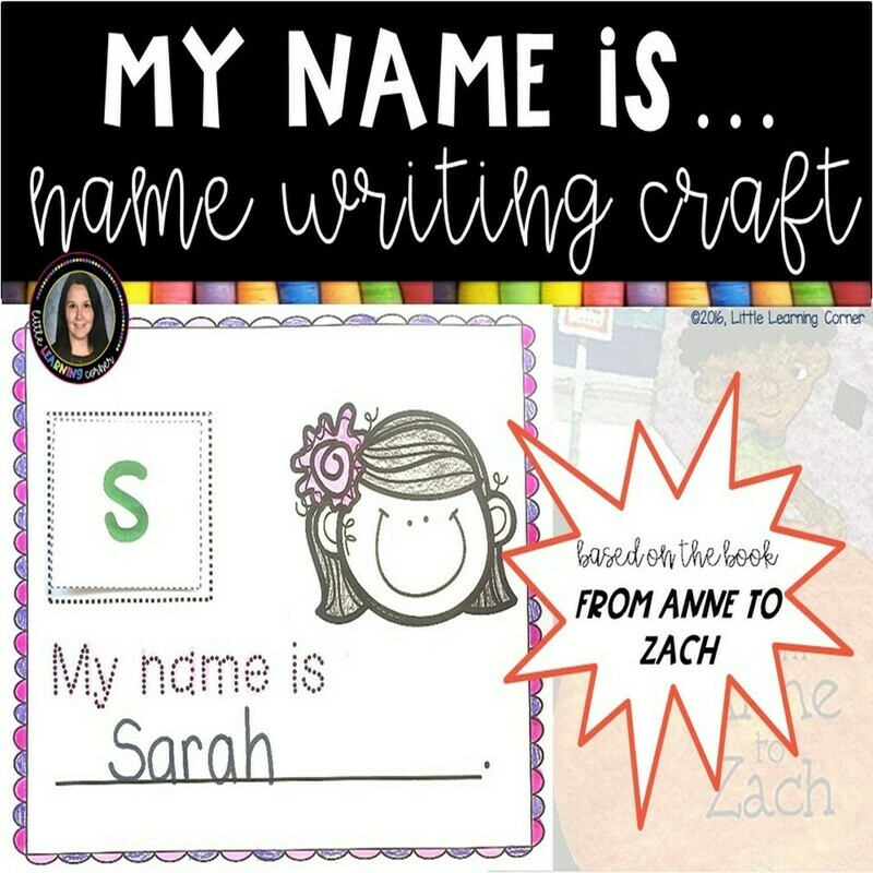 Name Writing Activity