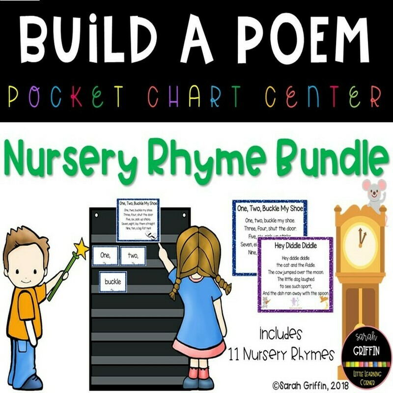 Nursery Rhyme Build a Poem Bundle
