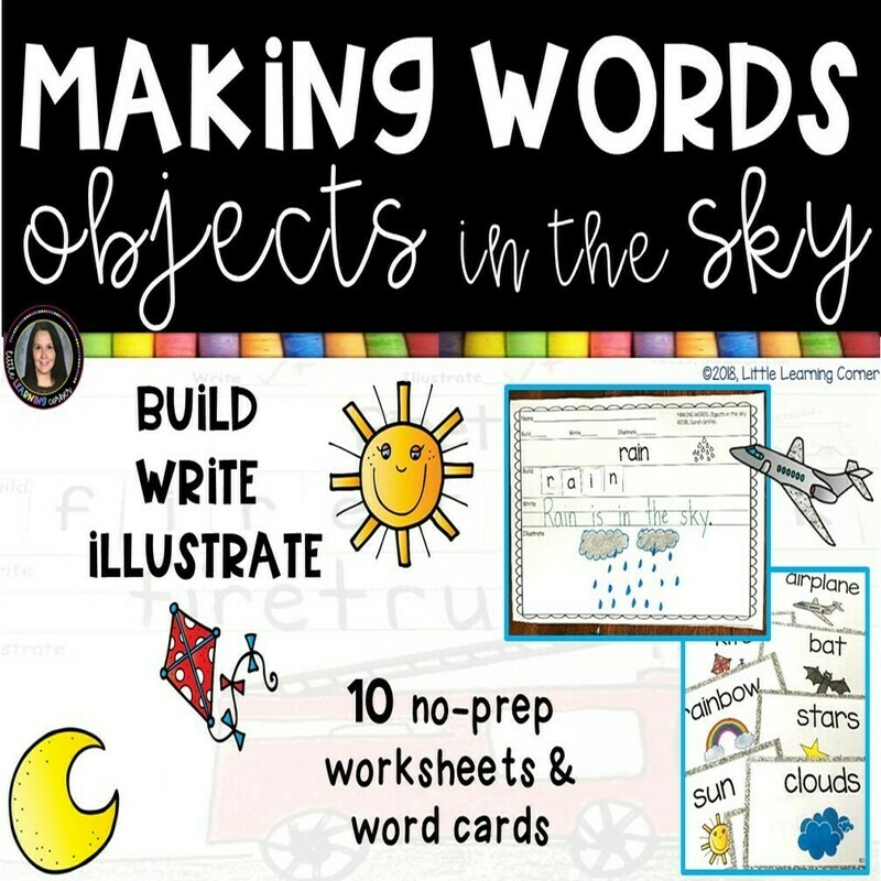 Making Words - Objects in the Sky
