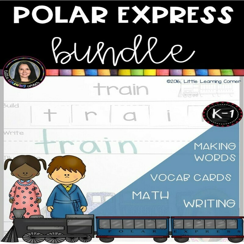 Polar Express Worksheets and Activities