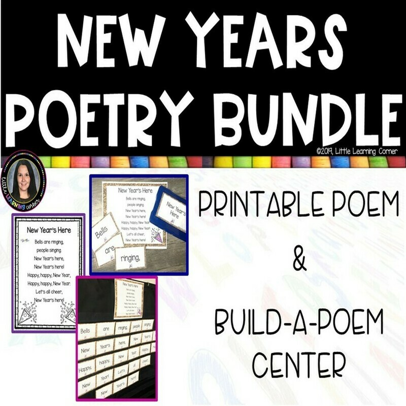 New Years Poetry Bundle