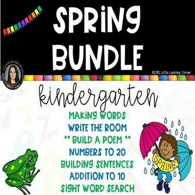 Kindergarten Spring Activities Bundle