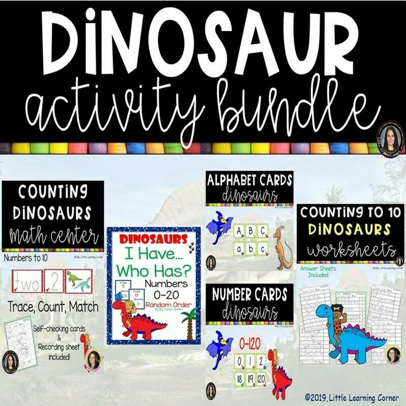 Dinosaur Activity Bundle
