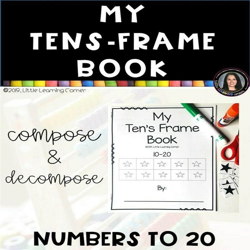 My Tens Frame Book