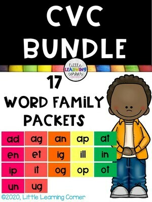CVC Word Family Bundle