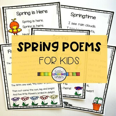 Spring Poems for Kids