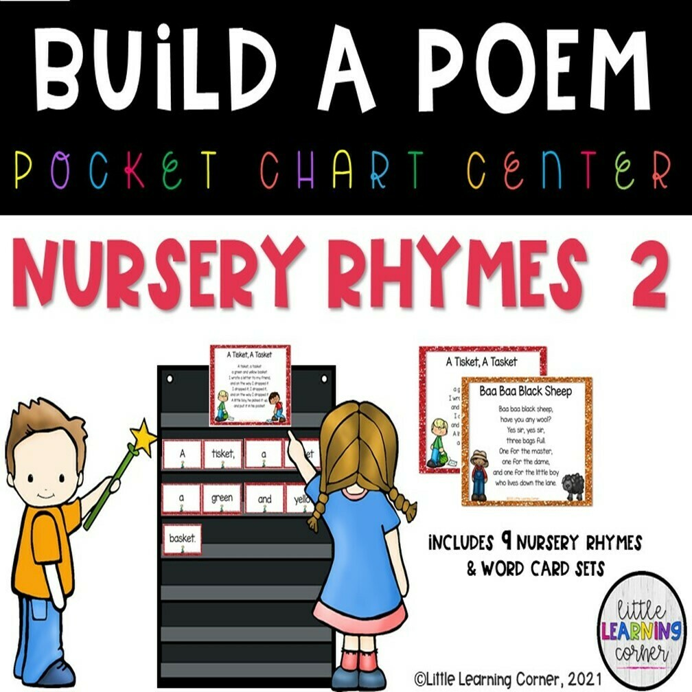 Nursery Rhymes Build a Poem Bundle Set 2