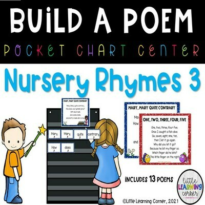 Nursery Rhyme Build a Poem Bundle Set 3