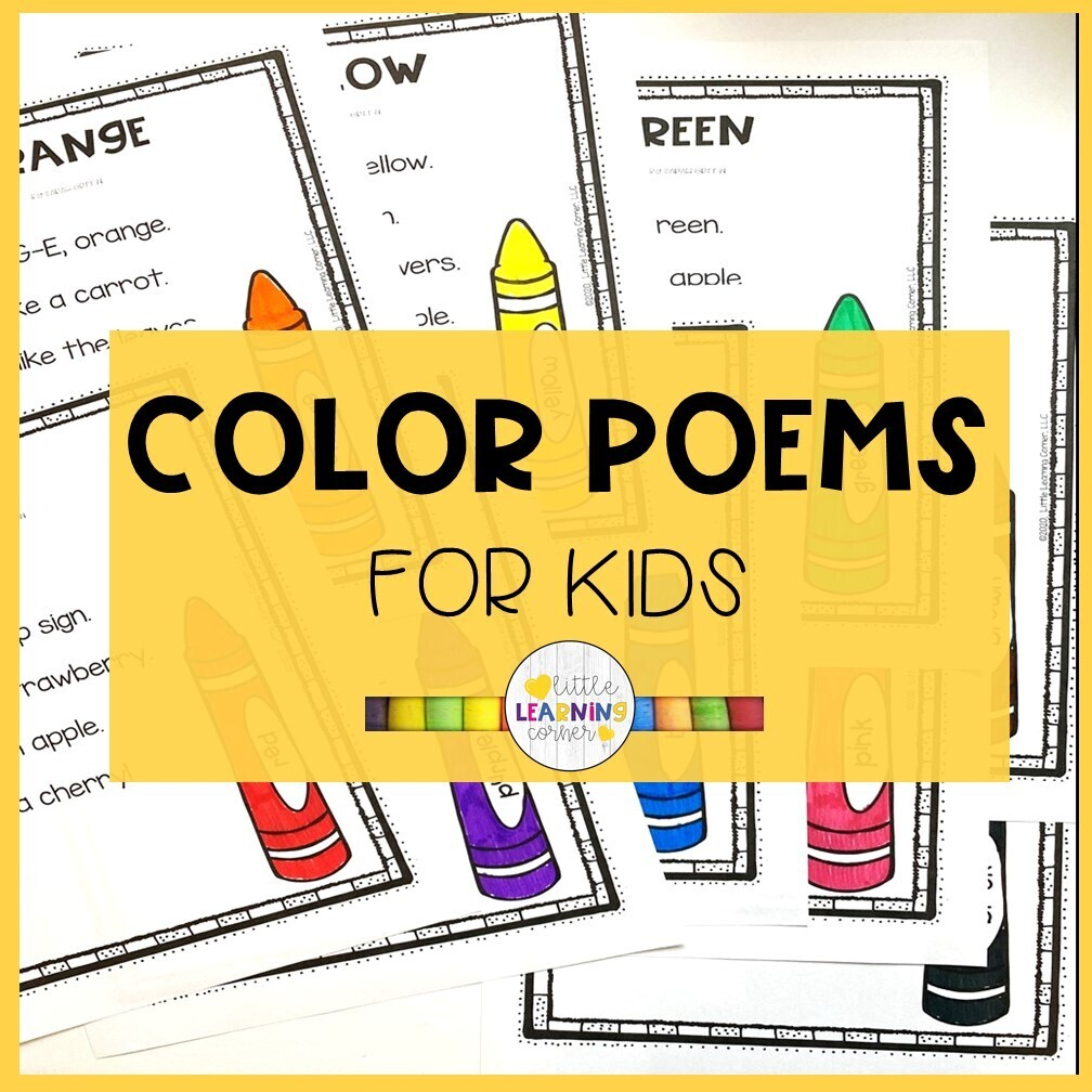 Color Poems for Kids