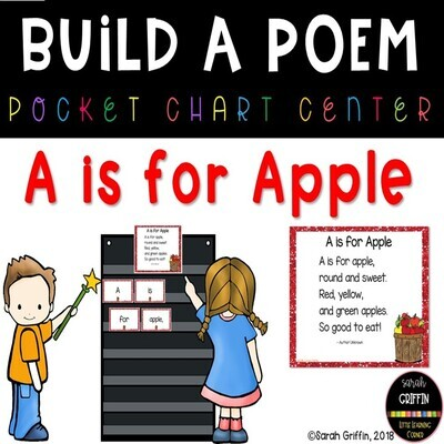 A is for Apple Build a Poem