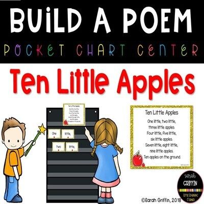 Ten Little Apples Build a Poem