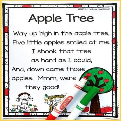 Apple Tree Printable Poem