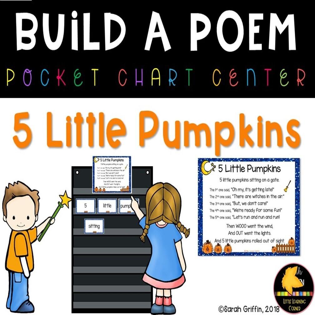 Five Little Pumpkins Build a Poem