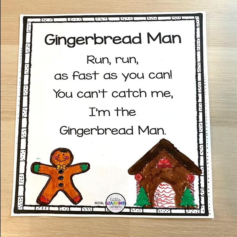Gingerbread Printable Poem