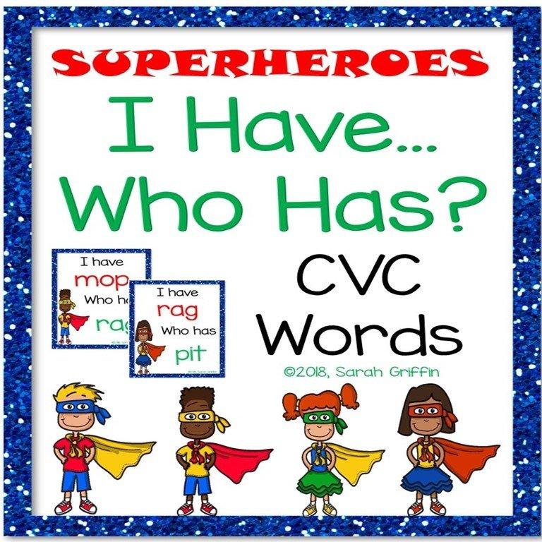 I Have Who Has - CVC Words