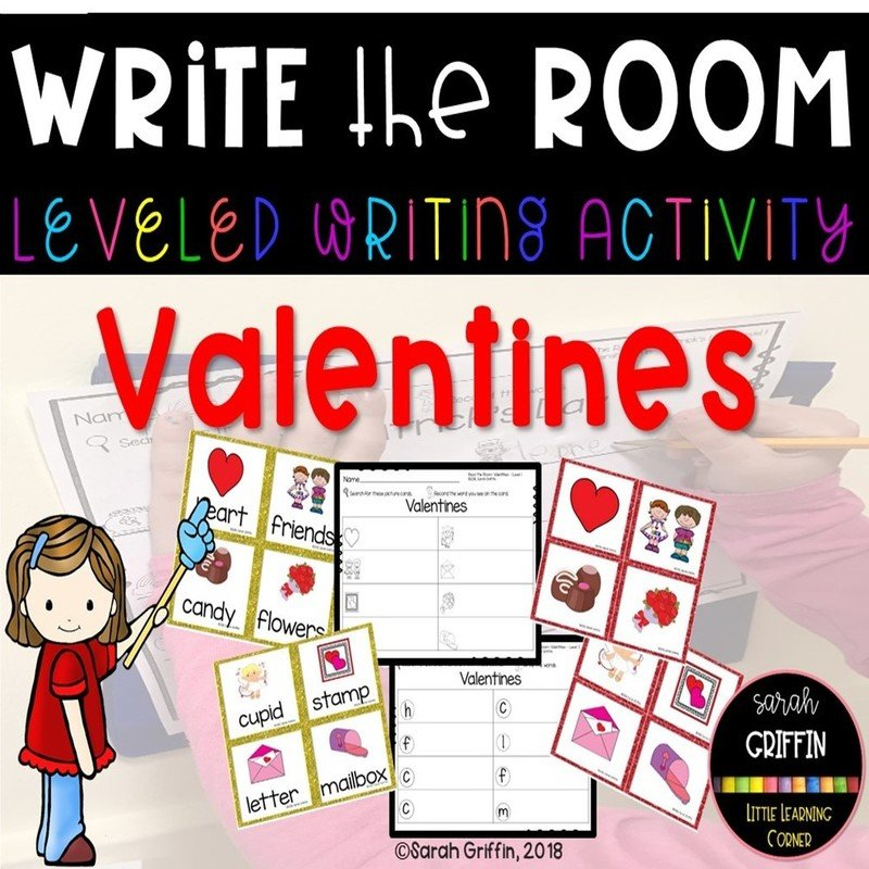 Write the Room: Valentines Day